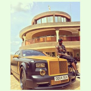 ADEBAYOR AND CAR MANSION