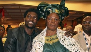 ADEBAYOR AND MUM