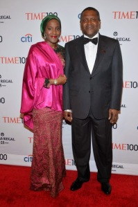 DANGOTE AND DAUGHTER